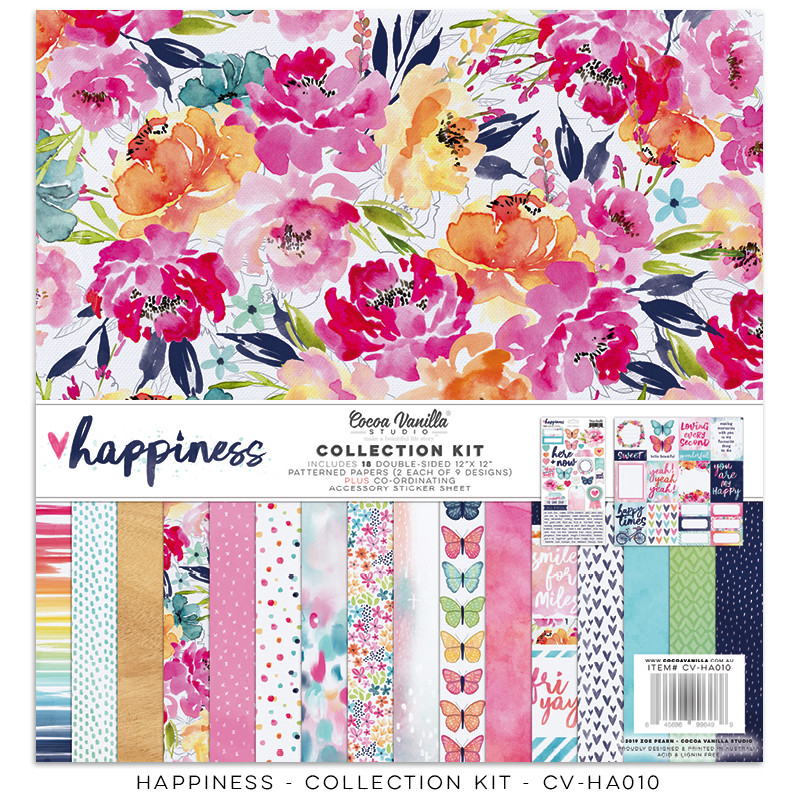 PREORDER Cocoa Vanilla Happiness Collection Kit