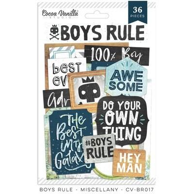 Cocoa Vanilla Boys Rule Miscellany