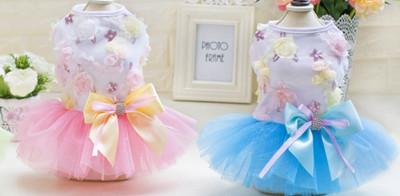 Flower Dress w/ Bow