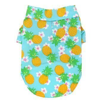 Hawaiian Camp Shirt - Pineapple Luau