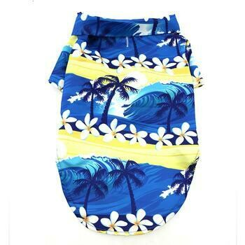 Hawaiian Camp Shirt - Catching Waves