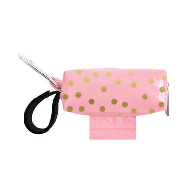 Pink w/Gold Dots Duffel
