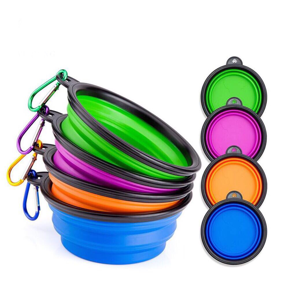 Collapsible Travel Bowls (Assorted)