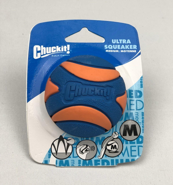 Chuckit!® Ultra Squeaker Balls (Medium 1pk)