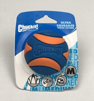 Chuckit!® Ultra Squeaker Balls (Medium 1pk)