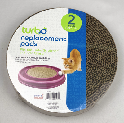 Turbo Scratcher® Replacement Pads (2pk)