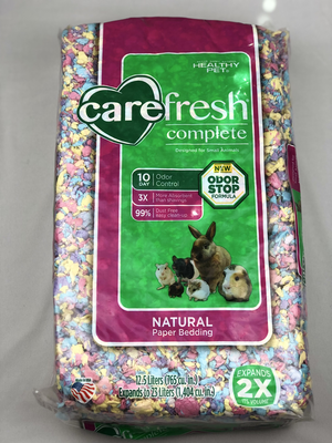 Carefresh Complete Natural Premium Soft Bedding - Confetti