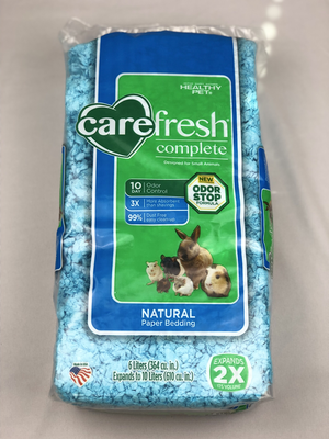 Carefresh Complete Natural Premium Soft Bedding - Blue