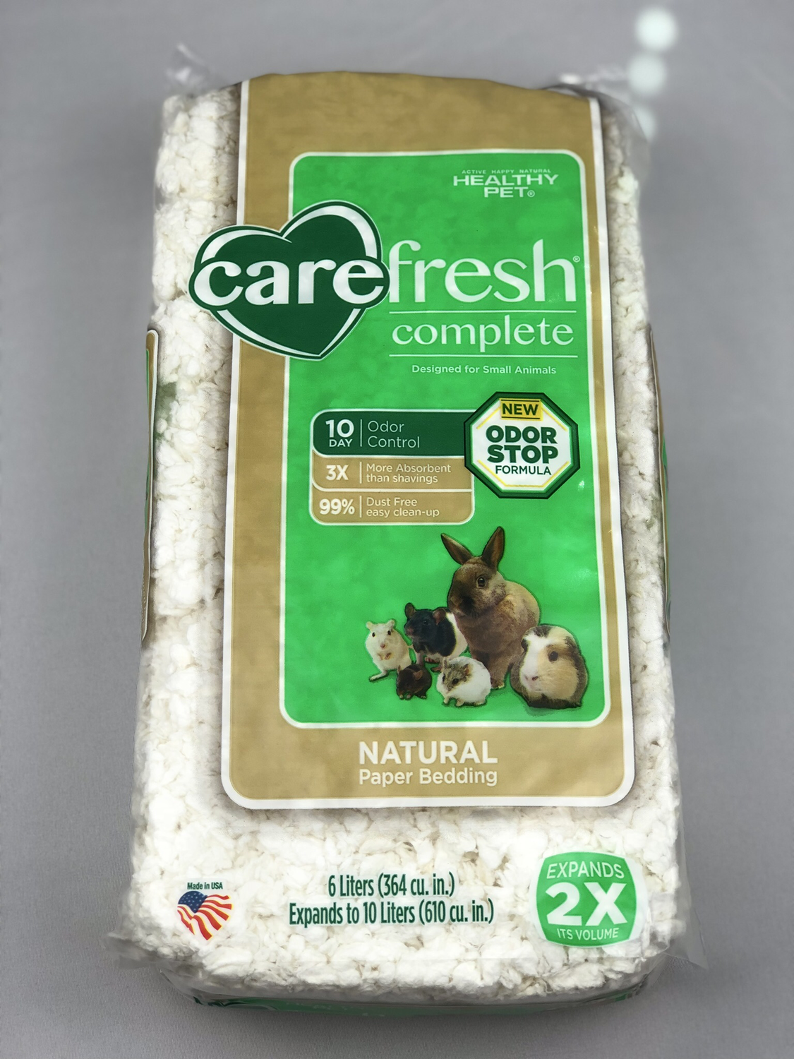 Carefresh Complete Natural Premium Soft Bedding - White