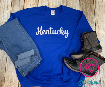 Kentucky Script Sweatshirt