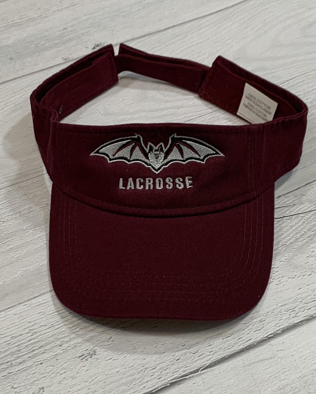 Transy Lacrosse Visor