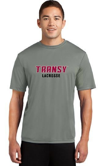 Unisex Dri-Fit Short Sleeve Shirt - Transy Lacrosse
