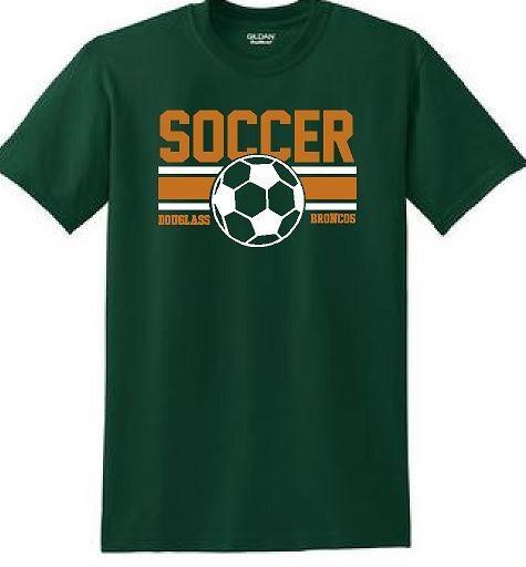 Douglass Soccer Short Sleeve DryBlend T-Shirt