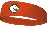 Wide Head Band with Douglass Horse Logo