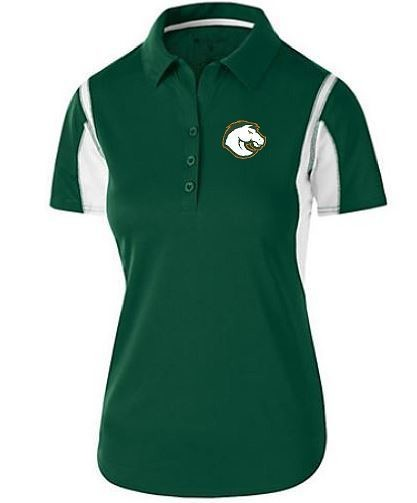 Ladies Integrate Polo with Douglass Logo