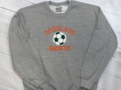 Douglass Soccer Crewneck Sweatshirt