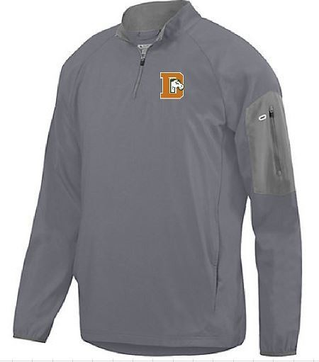 Preeminent 1/4 Zip Pullover with Douglass Logo