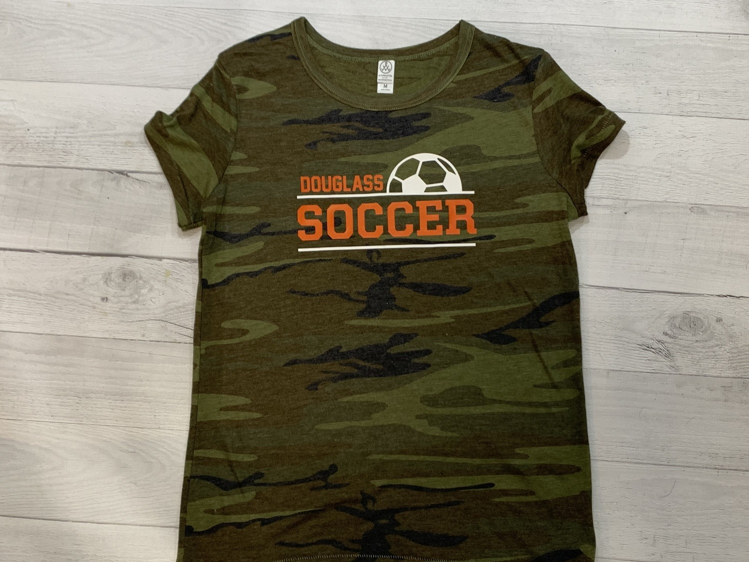 Camo Soccer Short Sleeve Shirt