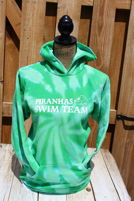 Tie-Dye Hooded Sweatshirt with choice of Greenbrier Logo