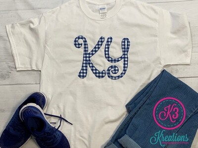 KY Gingham Scribble Shirt