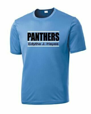 Panthers Short Sleeve T-shirt (100% Cotton or Dri-Fit Option)