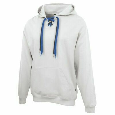 Lace Up Hoodie with 2 laces in school colors - Logo Choice