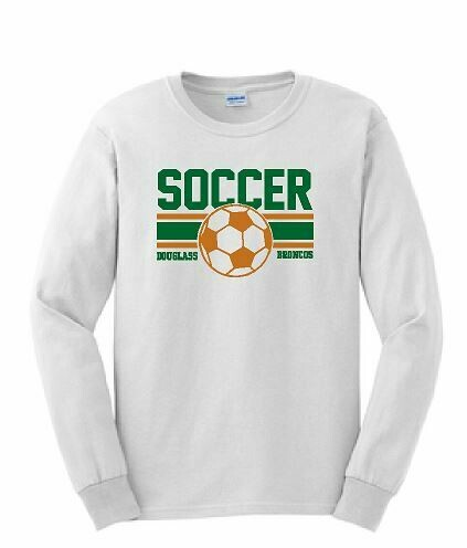 Douglass Soccer Long Sleeve T-Shirt
