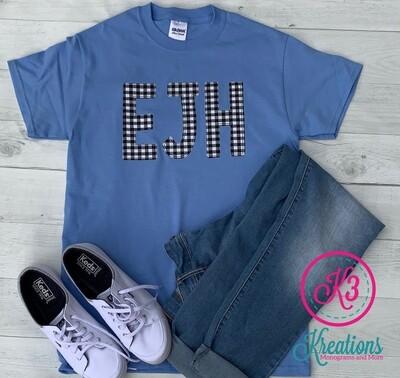 EJH Applique T-Shirt (Long or Short Sleeve)