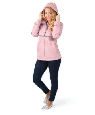 Ladies Charles River New Englander Rain Jacket