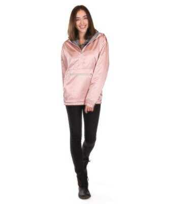 Ladies Chatham Anorak Satin in Rose Gold