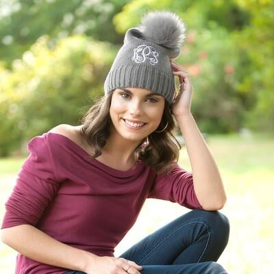 Grey Madison Hat