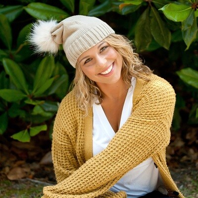 Natural Madison Hat