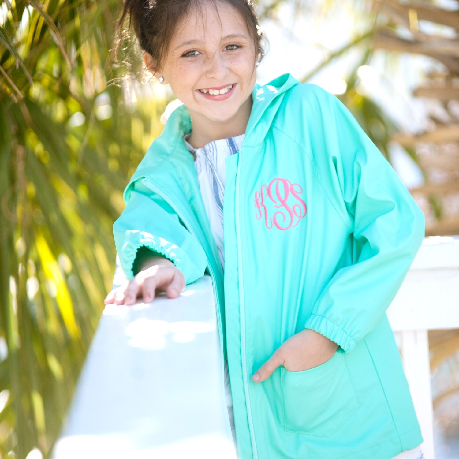 Mint Kids' Rain Jacket