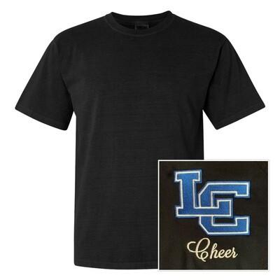 Unisex Comfort Color Short Sleeve Heavyweight T-Shirt - Front Chest Design