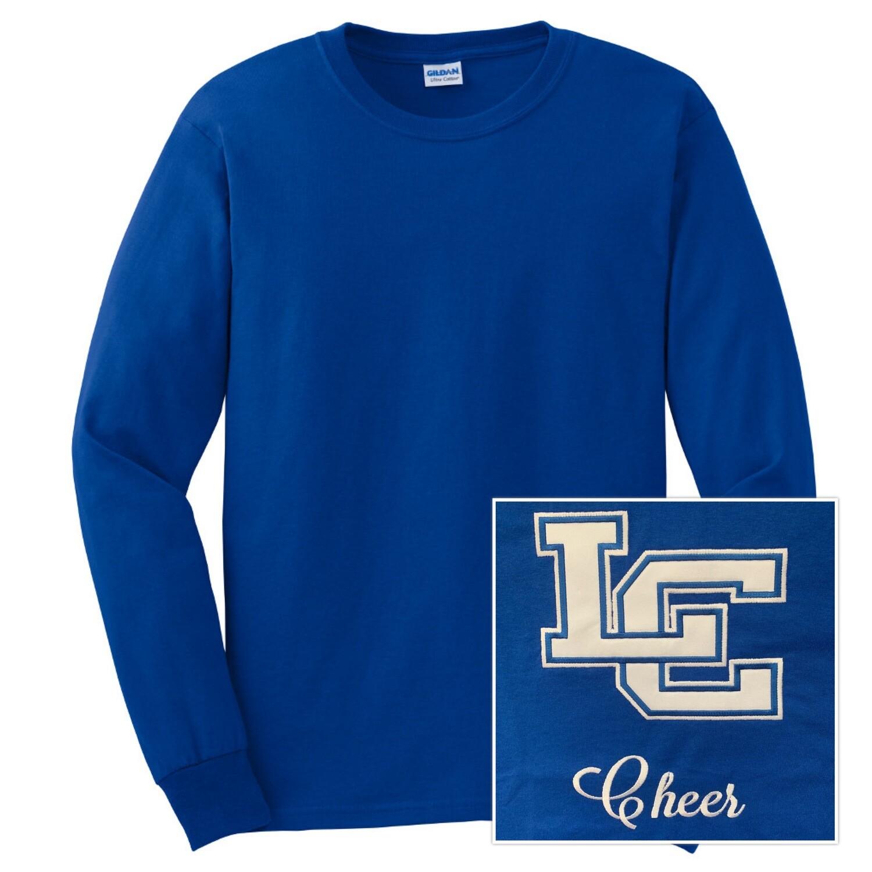 Unisex Ultra Cotton® 100% Cotton Long Sleeve T-Shirt - Left Chest Design