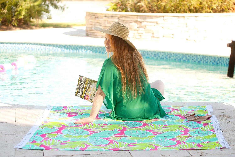 Totally Tropics Sun Blanket