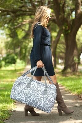 Smokey Leopard Travel Bag