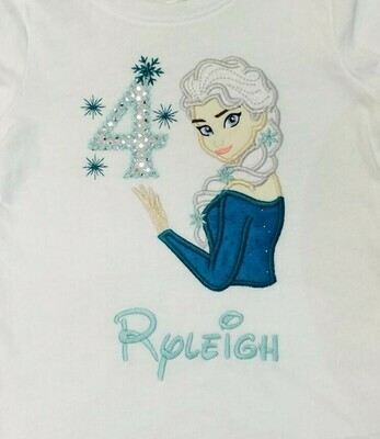Elsa Birthday Shirt