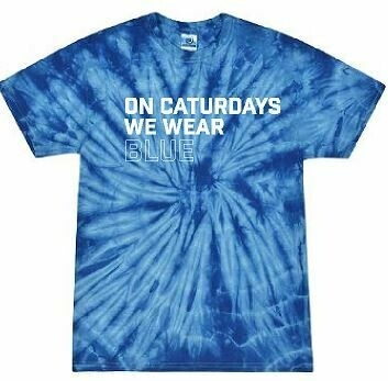 Caturdays Tie Dye Short Sleeve T-Shirt