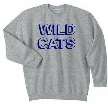 Wildcats Crewneck Sweatshirt