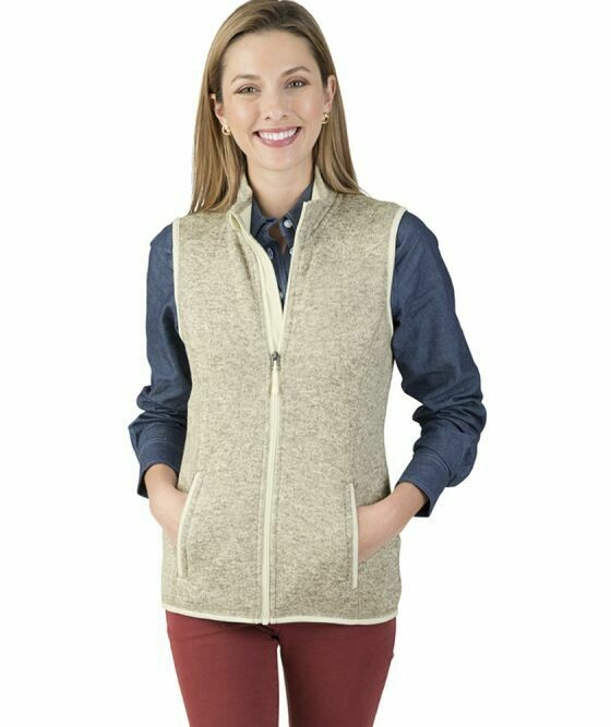 Ladies Pacific Heathered Vest