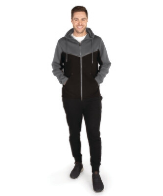Mens Seaport Full Zip Hoodie