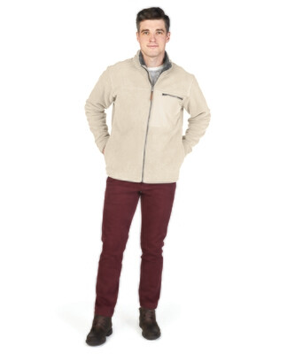 Mens Jamestown Fleece Jacket