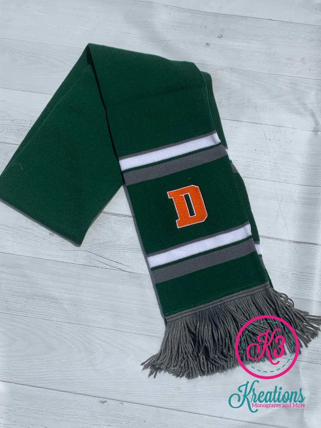 Comeback Scarf with choice of logo