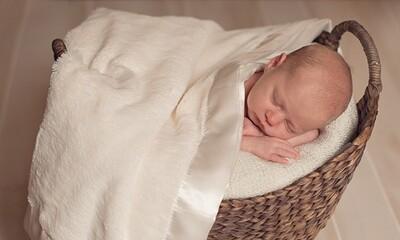 Satin Trimmed Baby Blanket