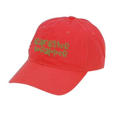 Red Gangster Wrapper Hat