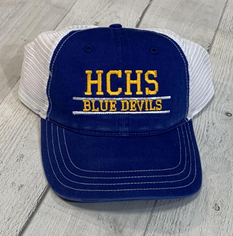 HCHS Blue Devil Trucker Style Hat