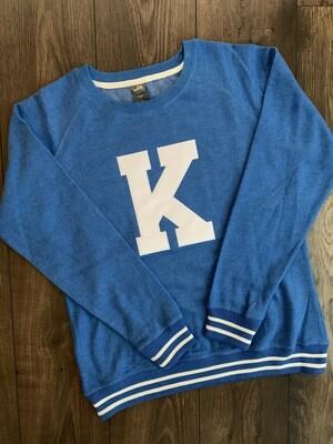 Ladies Big K Relay Crewneck Sweatshirt