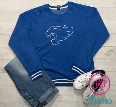 Ladies Wildcat Relay Crewneck Sweatshirt