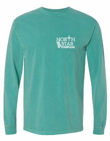 Comfort Color Long Sleeve T-shirt with choice of left chest design
